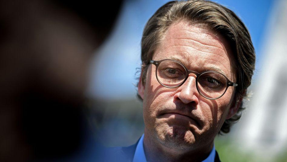 Minister Scheuer: Erst der PR-Gau, jetzt werden die Kosten berechnet