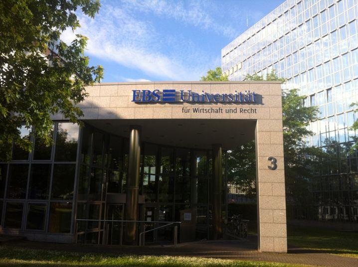 EBS Universität für Wirtschaft und Recht in Wiesbaden: Krise ohne Ende