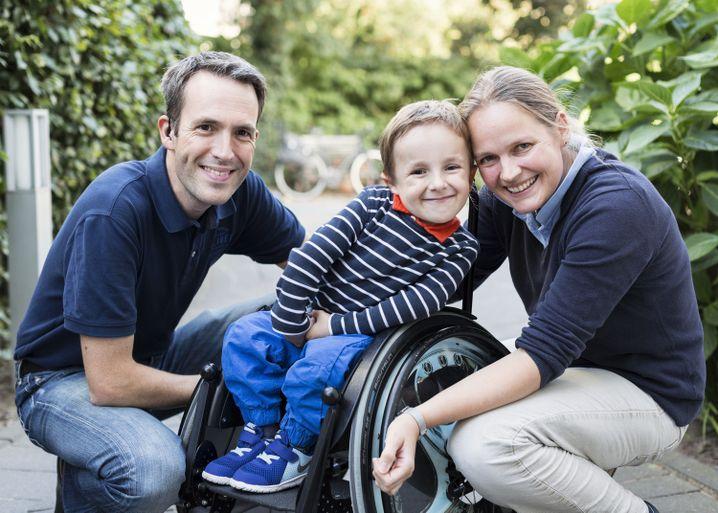 Moritz mit seinen Eltern