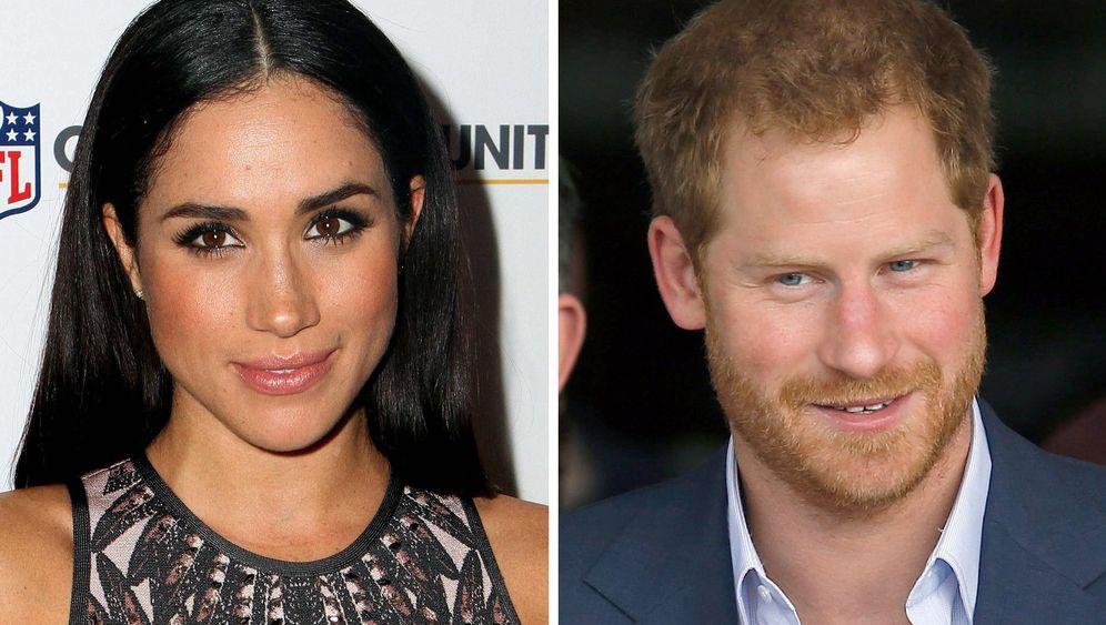 Harry und Meghan Markle: Die Schauspielerin und ihr Prinz
