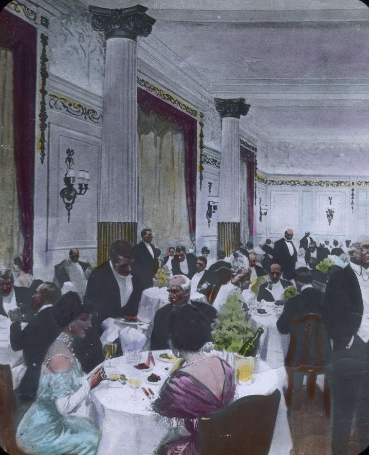 """""""Titanic""""-Speisesaal: Schlemmen bis zum Untergang"""