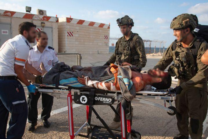 Vermeintlich verletzter Soldat in Haifa: Schauspiel zur Täuschung der Hisbollah