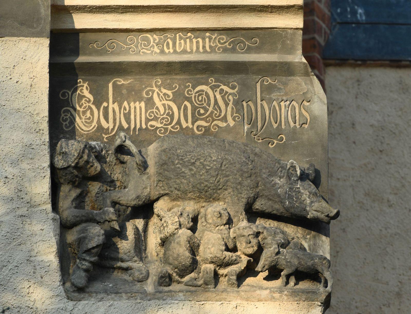 "Judgement in ""Judensau"" sculpture decision in Wittenberg"