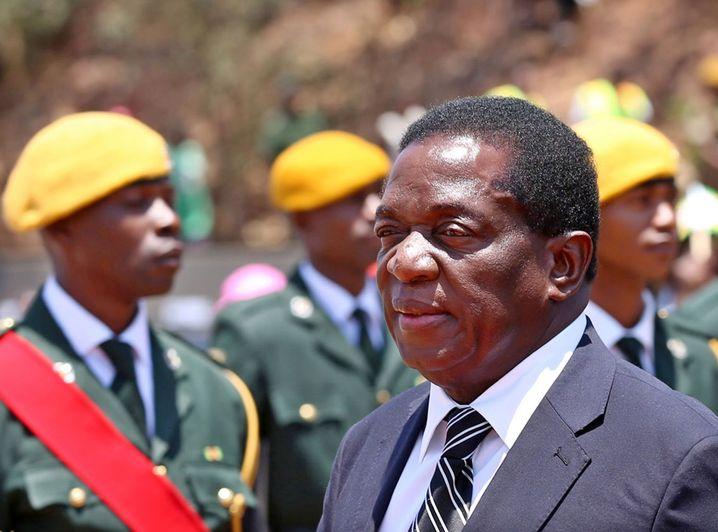Der neue starke Mann Simbabwes: Emmerson Mnangagwa