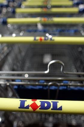 Lidl-Einkaufswagen: Die Prognose für 2008 ist vorsichtig