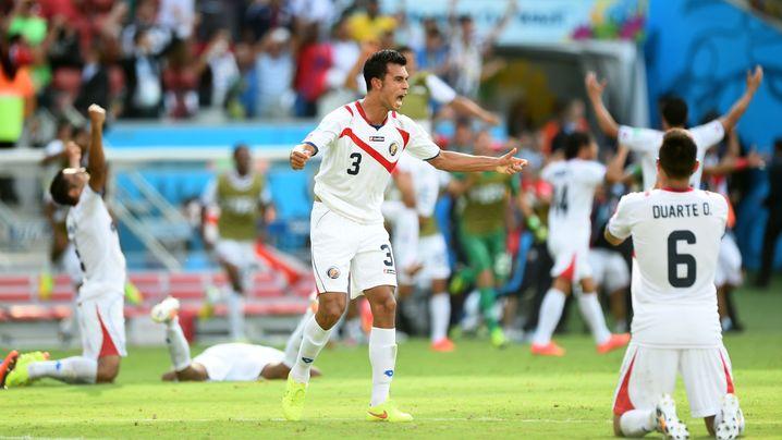 Costa Rica im Achtelfinale: Triumph des Außenseiters