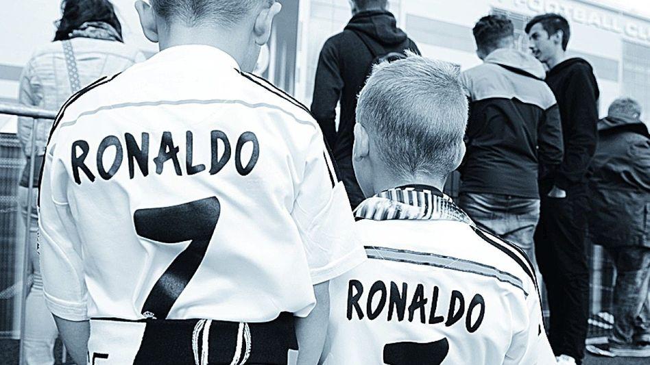 Ronaldo-Fans Immer süß, immer brillant