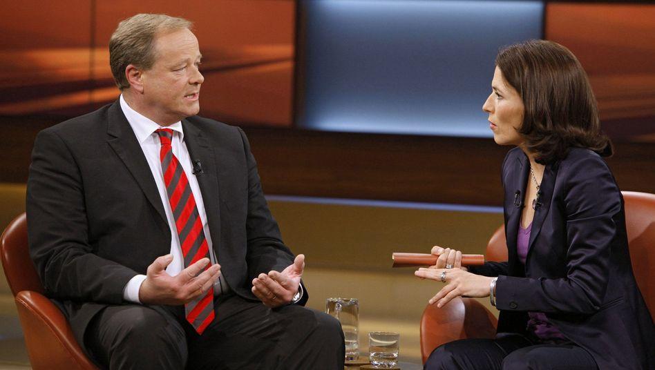 Verteidigungsminister der Reserve: Dirk Niebel zu Gast bei Anne Will