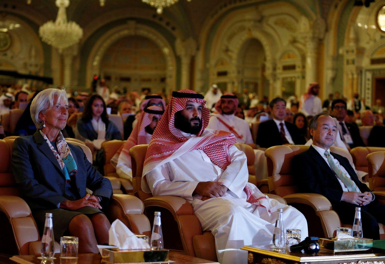 Lagarde/ Riyadh / Investorenkonferenz Riad
