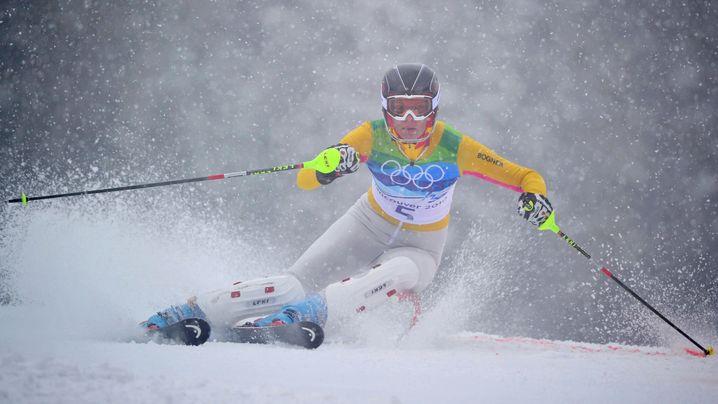 Olympisches Slalomrennen: Maria überglücklich, Susanne untröstlich