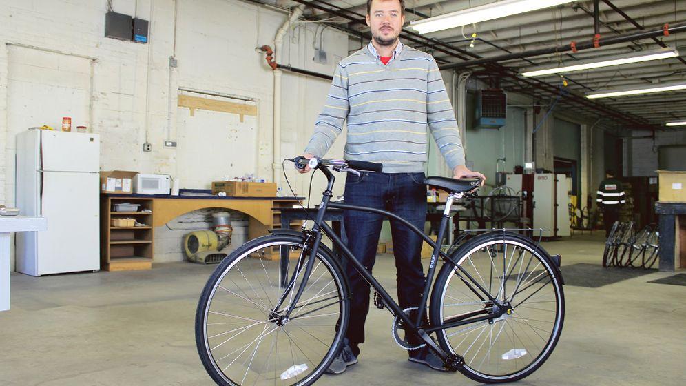 Fahrrad-Boom in Detroit: Schmalspur-Aufschwung
