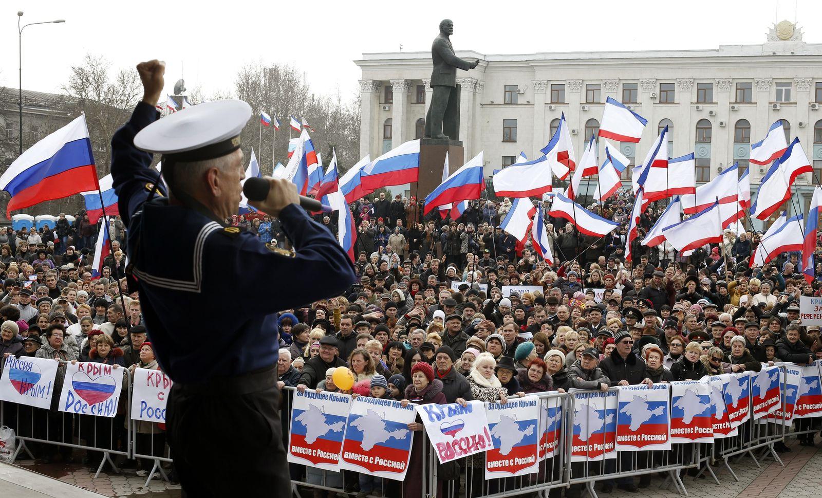 Videoteaser Krim vor Referendum