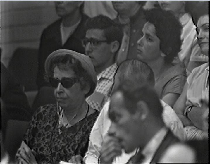 Hannah Arendt beim Eichmann-Prozess: Leider atmet die Ausstellung nicht ihren Widerspruchsgeist.