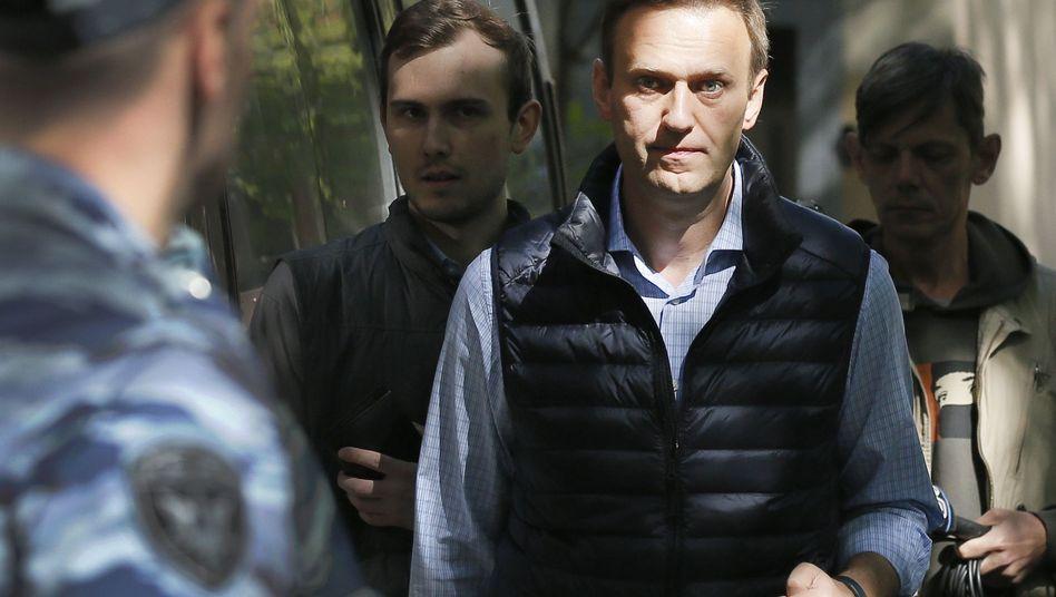 Alexej Nawalny, Mai 2018