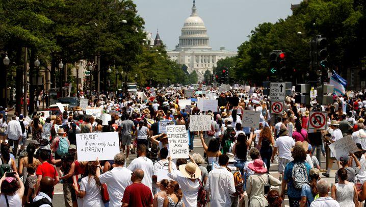 Massenproteste gegen Trump: Amerikas Wut - in 750 Städten