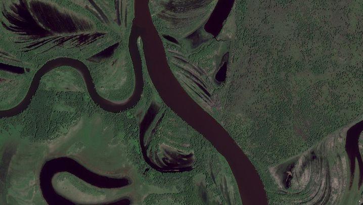 Gegend um den Nimelen-Fluss im Gebiet der BM Gruppe 2013 und 2019
