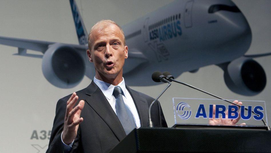 Airbus-Vorstandsvorsitzender Enders: Unerwarteter Austritt aus der CSU