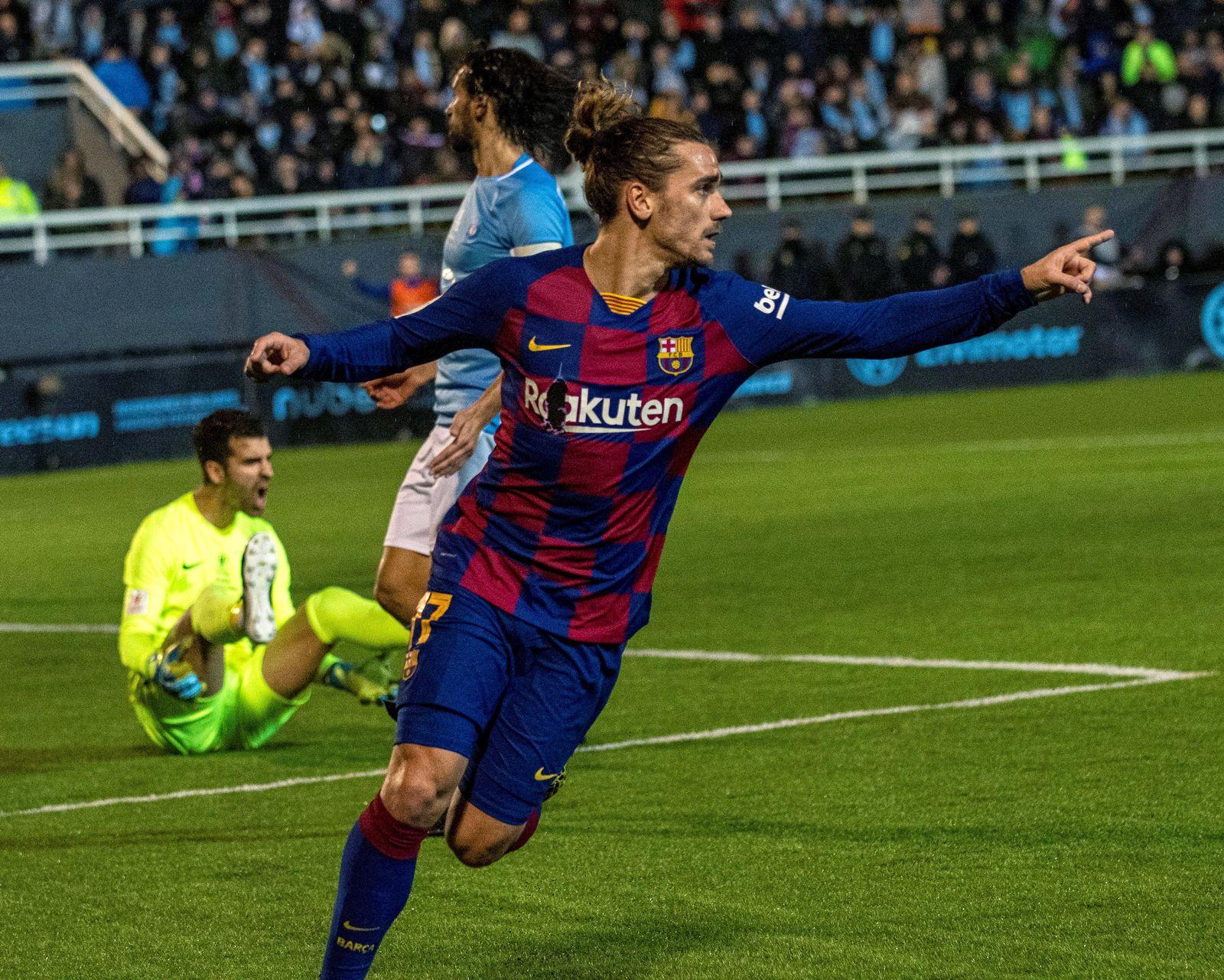 UD Ibiza - FC Barcelona, Spain - 22 Jan 2020