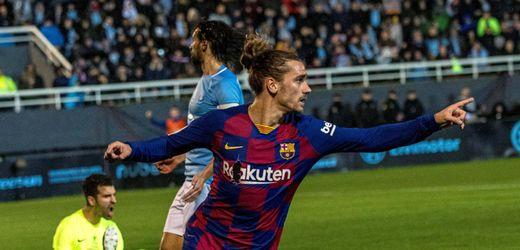 Copa del Rey: FC Barcelona entgeht auf Ibiza dank Griezmann Blamage