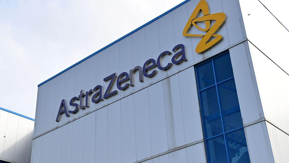 AstraZeneca-Werk im britischen Macclesfield