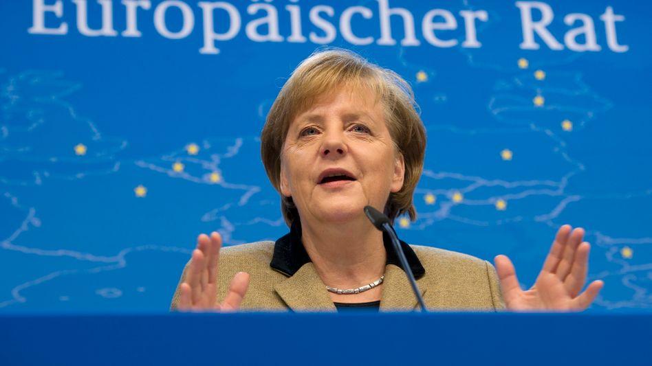 Chancellor Angela Merkel got her way in Brussels.