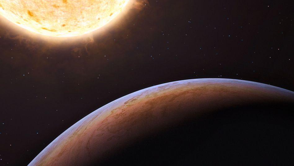 Exoplanet (Illustration): Forscher entdecken potentiell lebensfreundliche Welt