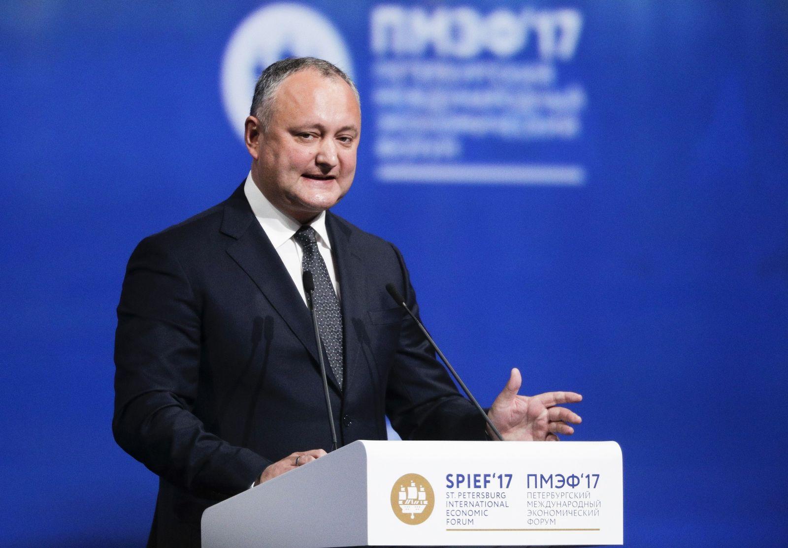 Russia Moldova Politics