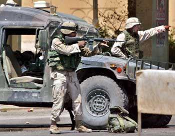 US-Soldaten in Bagdad: Zielscheibe gewaltbereiter Islamisten
