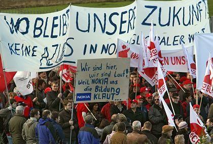 "Anti-Nokia-Protest in Bochum: ""Ohne Skrupel"""