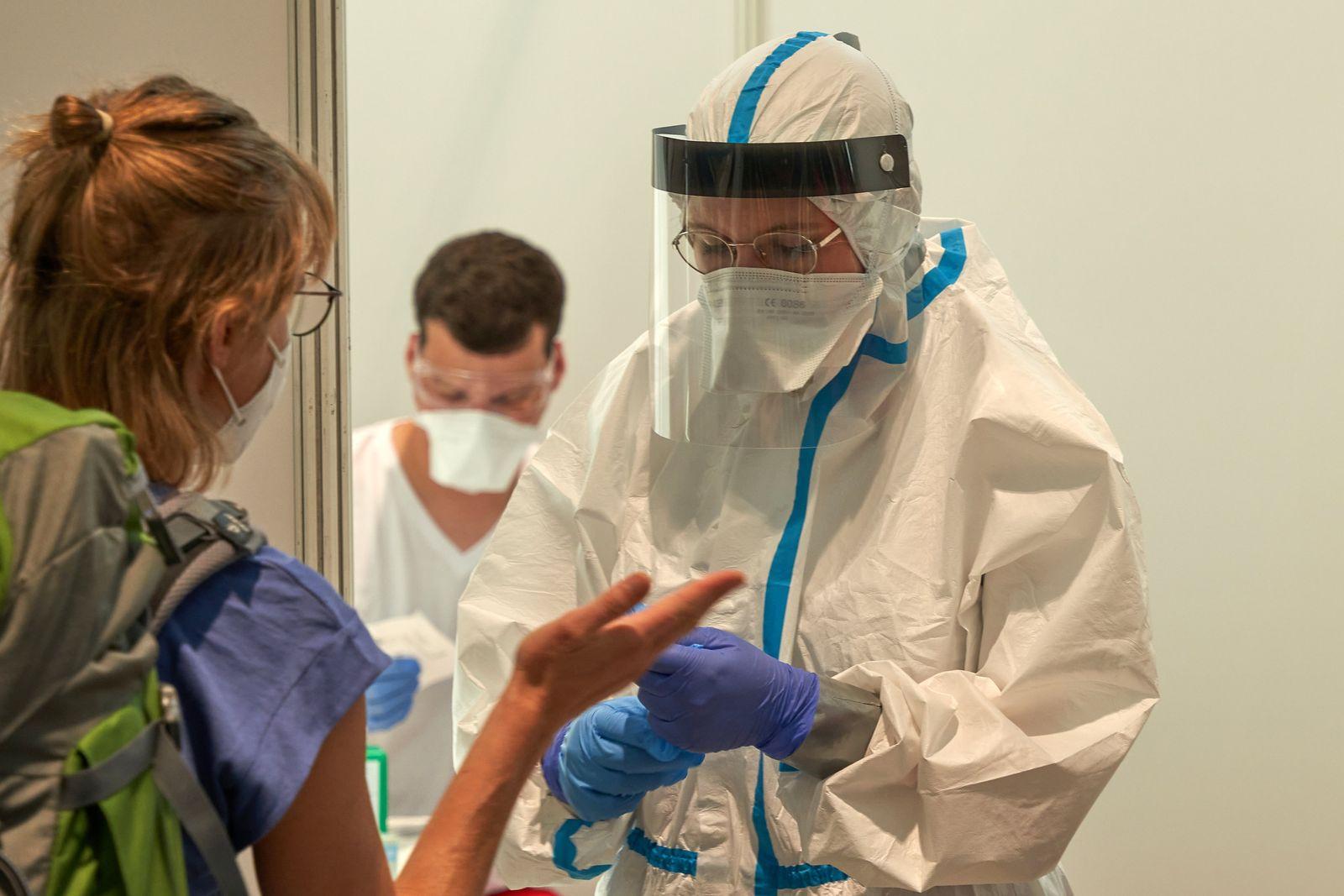 Coronavirus - Testpflicht in Frankfurt