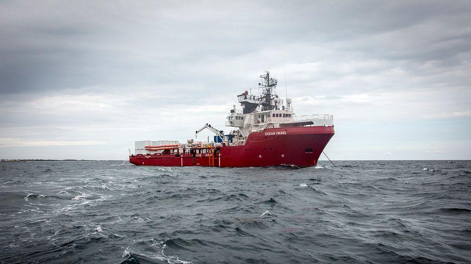 »Ocean Viking« (Archivbild)