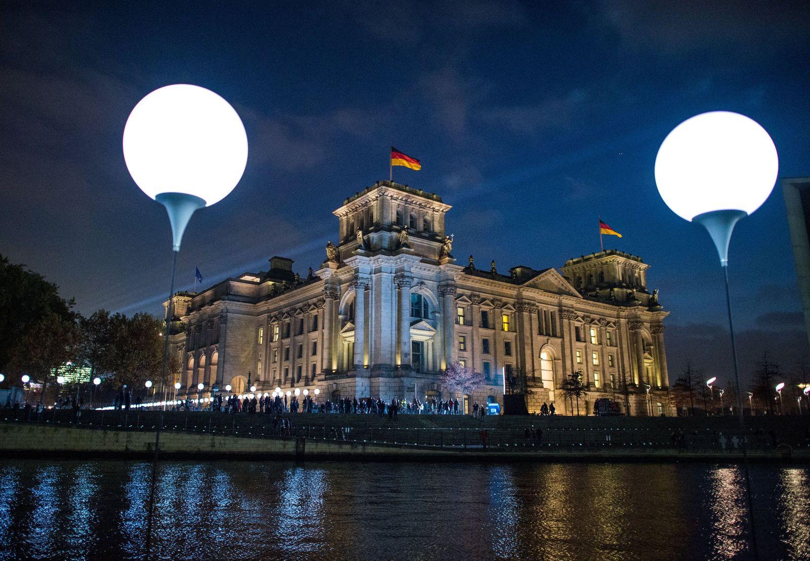 Lichtmauer Berlin