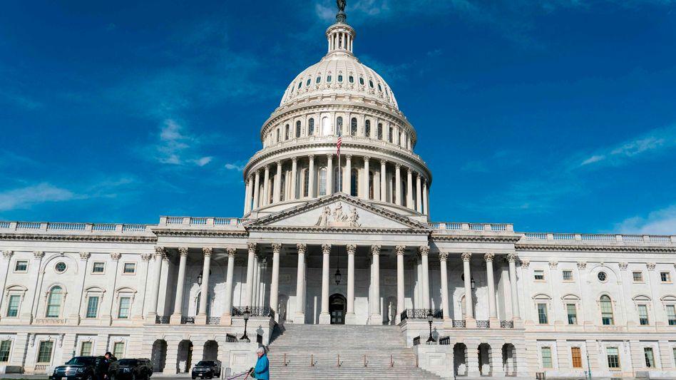 Capitol in Washington: US-Präsident Trump will das Hilfspaket bald unterschreiben