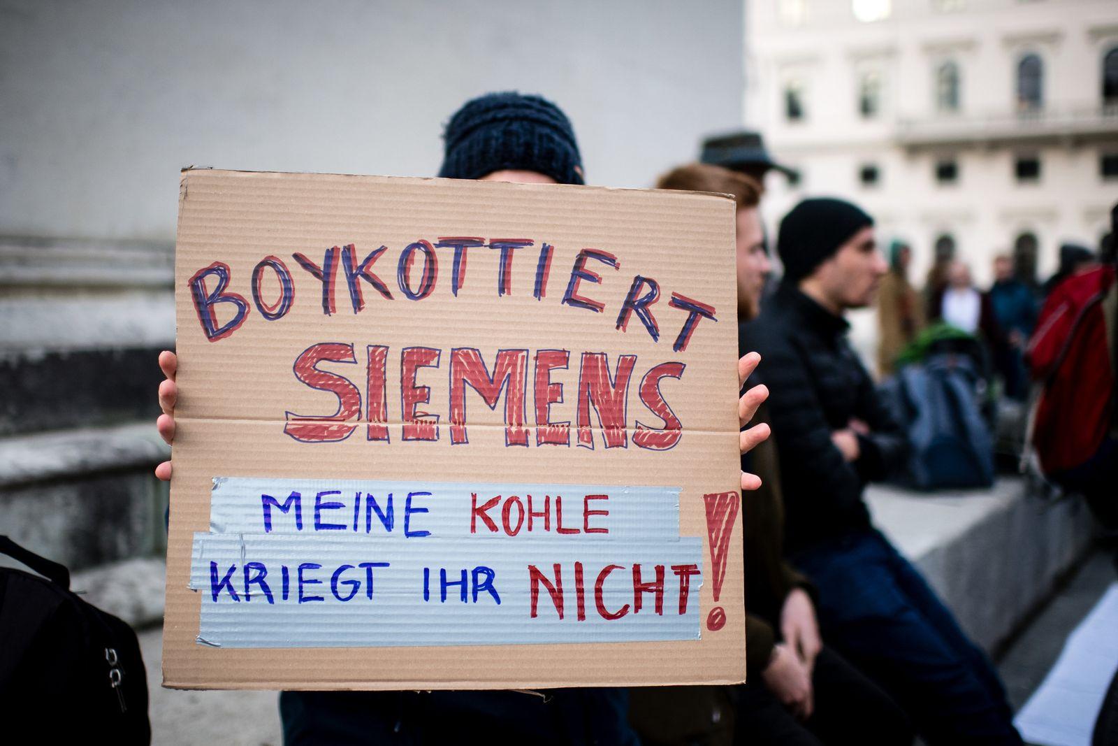 Proteste vor Siemens-Hauptversammlung erwartet