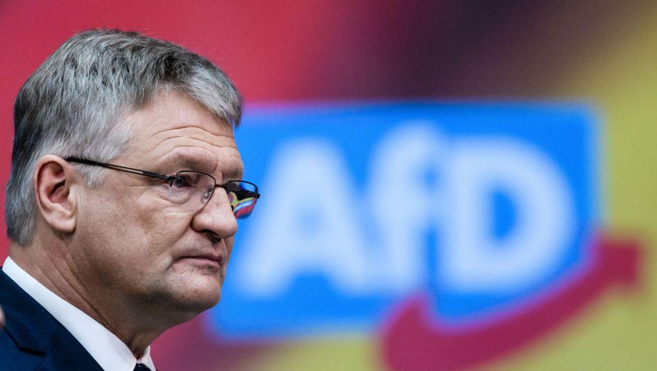 AfD-Bundesvorsitzende Jörg Meuthen: Unterstützungsleistungen mit einem Gegenwert von 89.800 Euro erhalten