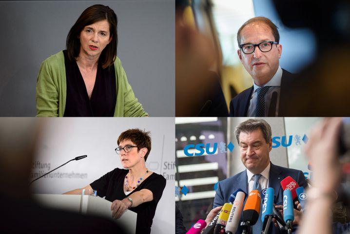 Die wichtigsten Akteure der Unionskrise