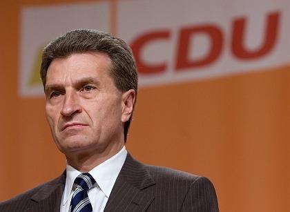 """CDU-Politiker Oettinger: """"Werbefreiheit bei ARD und ZDF"""""""