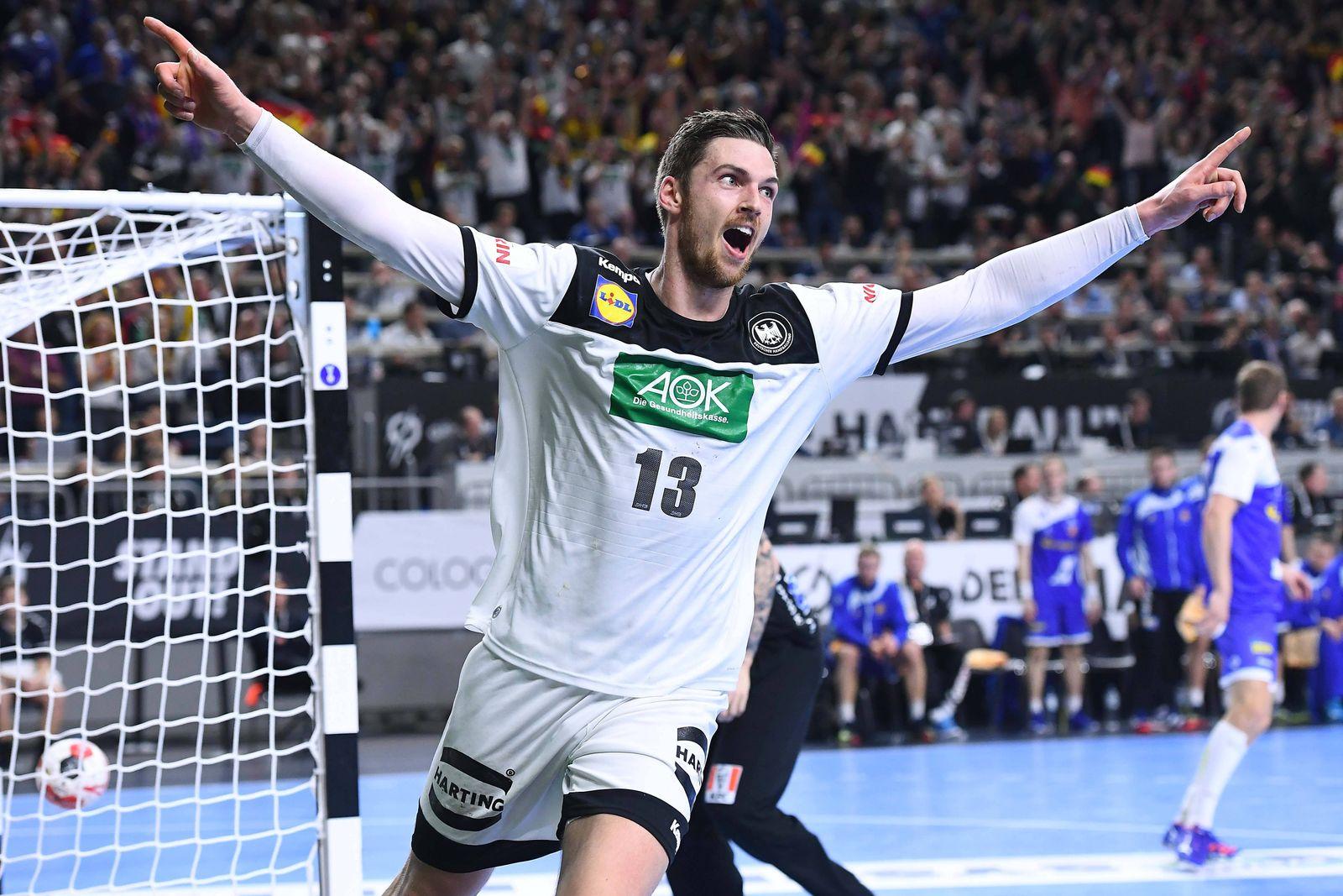 Handball WM Hauptrunde Deutschland Island am 19 01 2019 in der Lanxess Arena in Köln Hendrik Peke