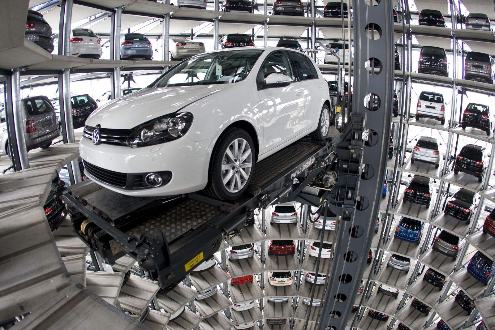 Volkswagen/ Auslieferungsturm