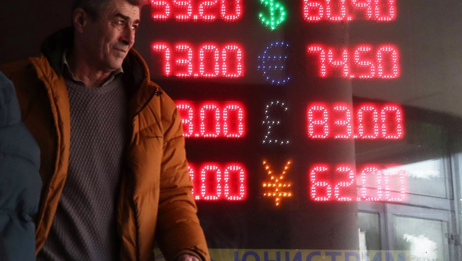 Wechselkurse in Moskau