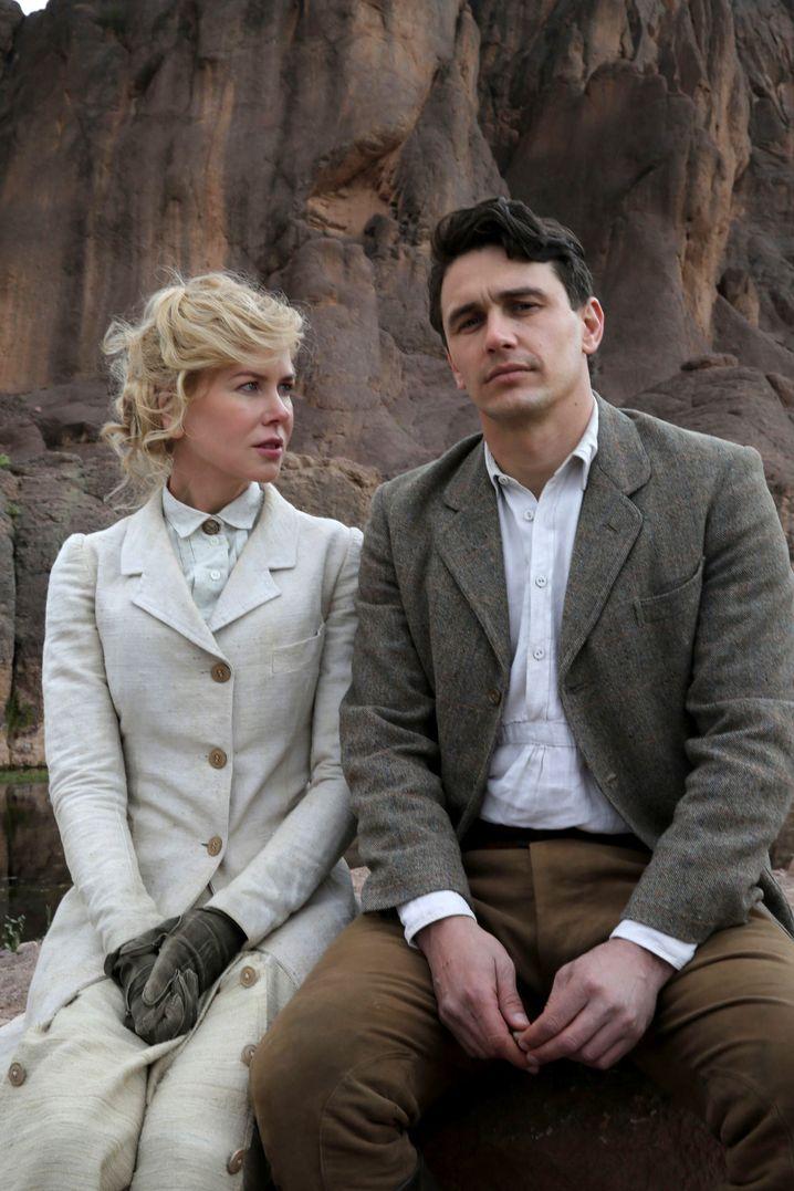 """Nicole Kidman und James Franco in """"Queen of the Desert"""""""