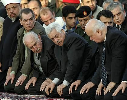 Trauerfeiern in Ramallah: Ruhe und Einkehr nach chaotischen Zuständen gestern