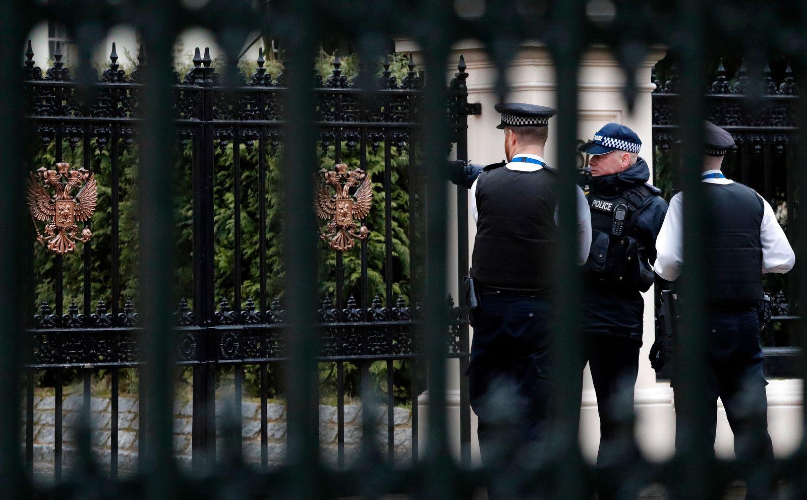 Ausweisung russischer Botschafter aus Großbritannien