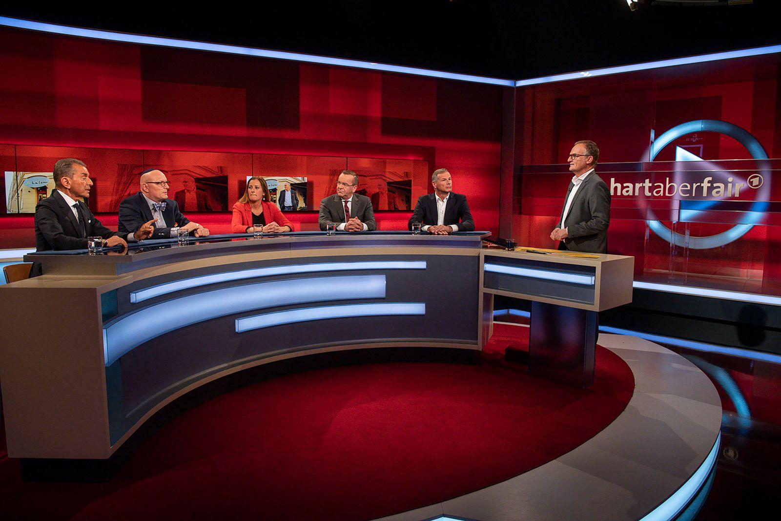 EINMALIGE VERWENDUNG TV/ Hart aber fair 14.10.2019