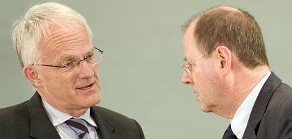 """CDU-Politiker Rüttgers und Steinbrück: """"Frage der Gerechtigkeit"""""""