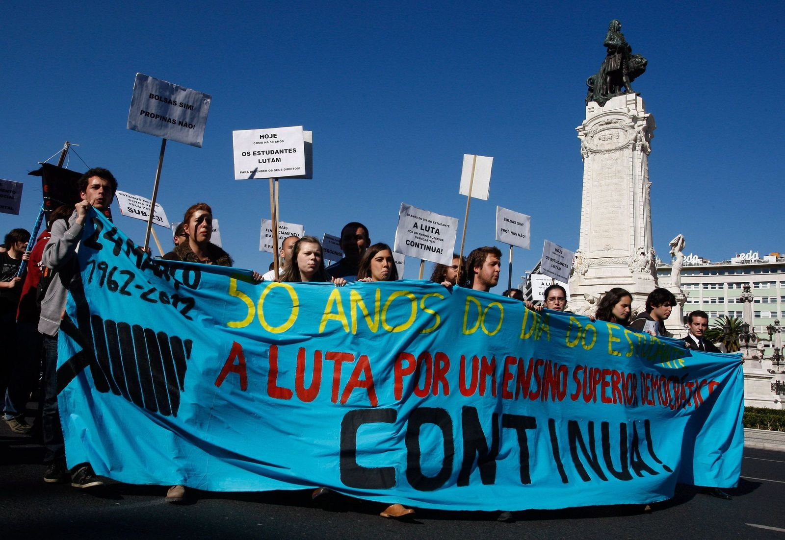 Studentenproteste / Lissabon