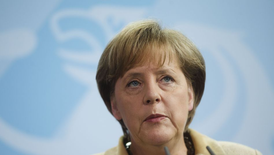 German Chancellor Angela Merkel has come under fire for expressing pleasure at the death of bin Laden.
