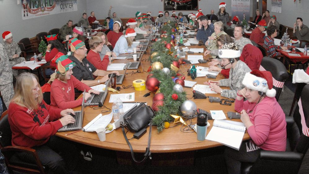 """NORAD-Weihnachtshotline: """"Bist du wirklich Santa Claus?"""""""