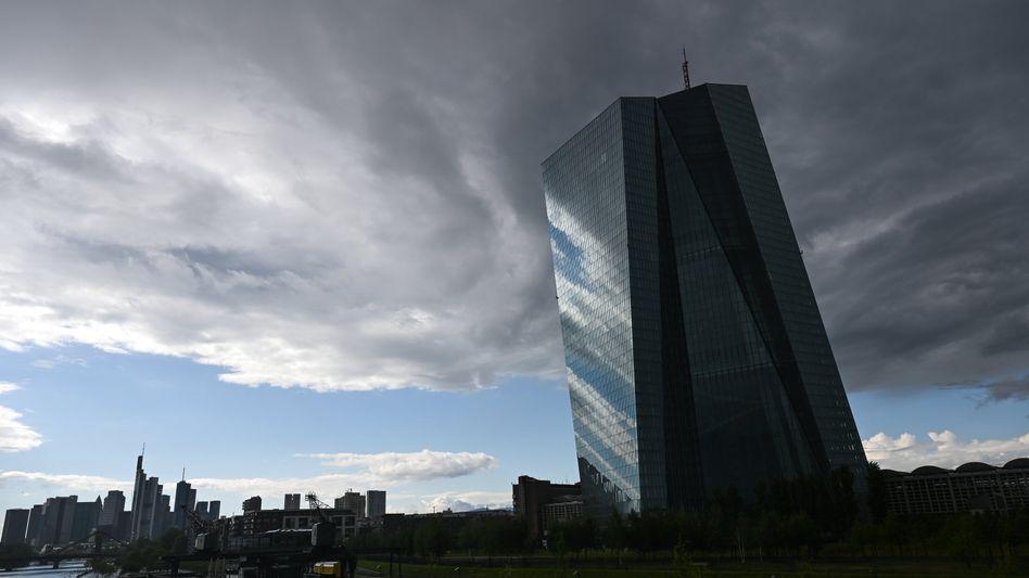 Zentrale der EZB in Frankfurt am Main