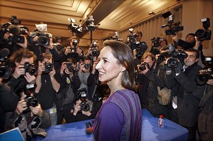 Segolene Royal is not about to fade into the background.